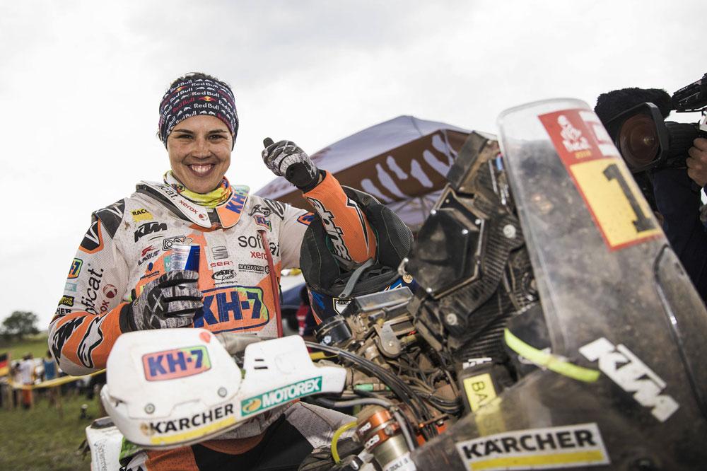 Laia Sanz, 12 en el Dakar 2018