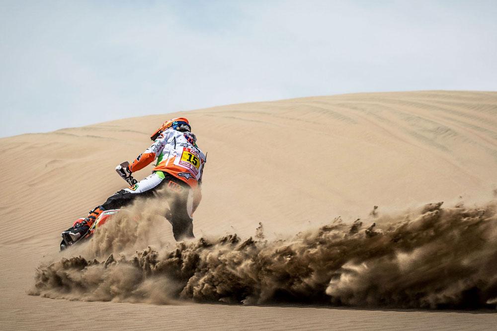 Laia Sanz fue 16 en la tercera etapa del Dakar 2018