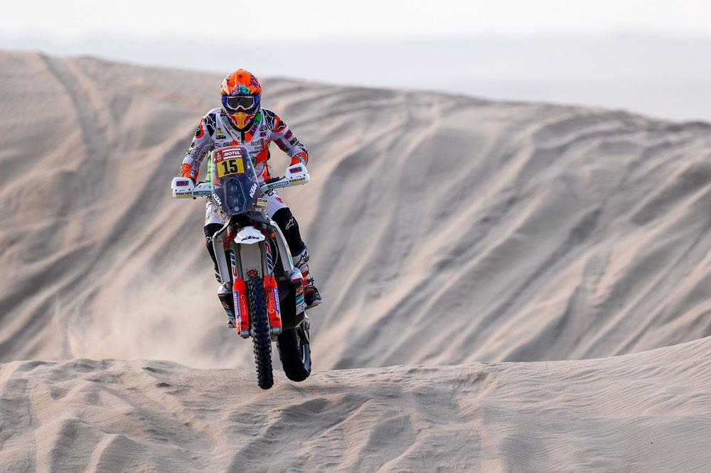 Laia Sanz sólo pudo ser 19 en la cuarta etapa del Dakar 2018