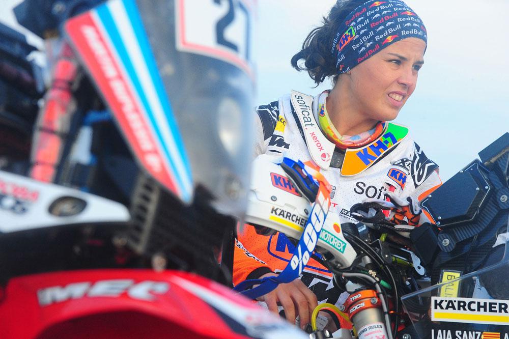 Laia Sanz, la mejor piloto femenina del Rally Dakar 2018