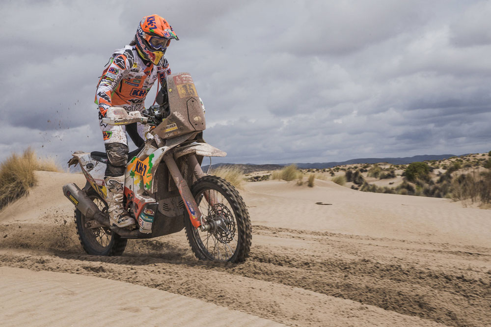 Laia Sanz logró su mejor resultado en lo que llevamos de Dakar en la octava etapa