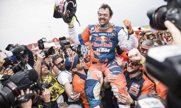 Matthias Walkner, nuevo rey del Dakar 2018