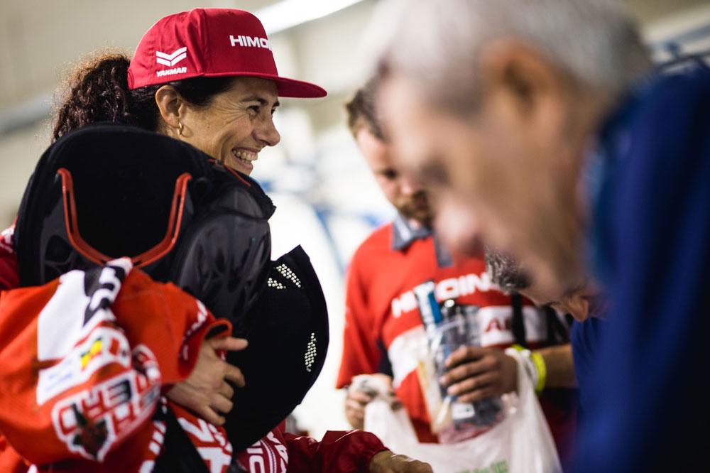 Rosar Romero también tuvo que despedirse del Rally Dakar 2018