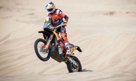 Rally Dakar 2018, tercera etapa. Sunderland recupera el mando