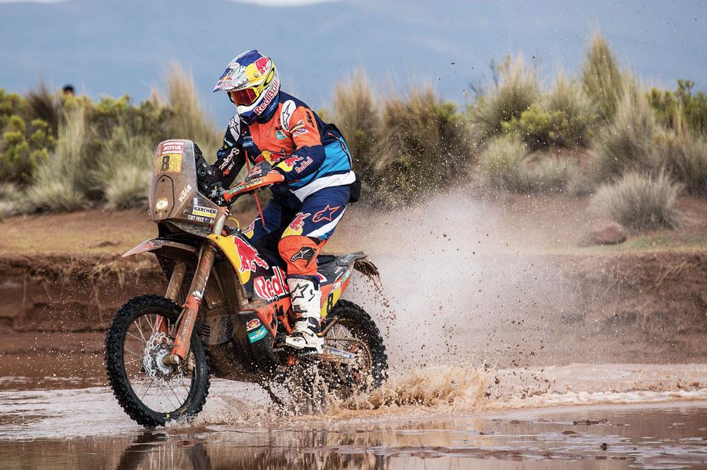 Toby Price se llevó la vitoria de la 11 etapa del Rally Dakar 2018
