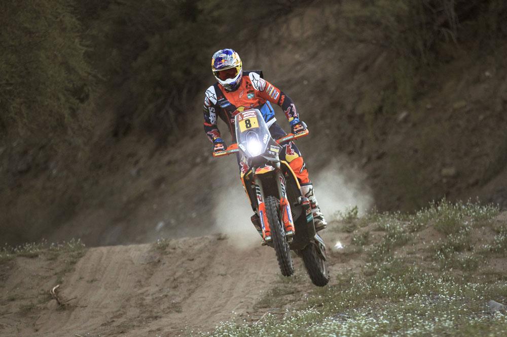 Toby Price logró la victoria de la etapa 13 del Dakar 2018
