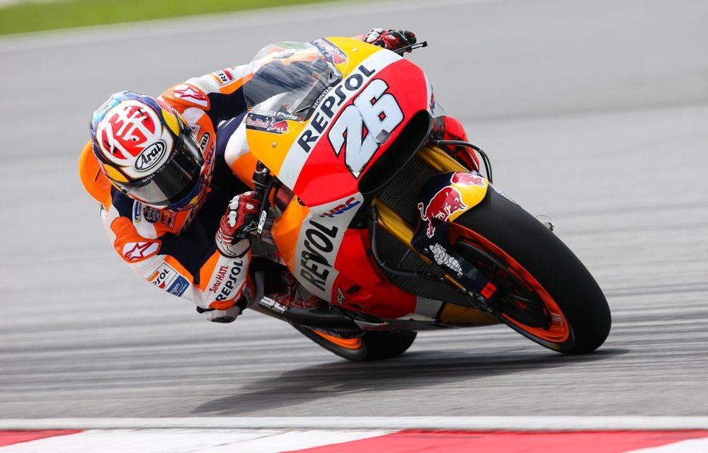 Entrenamientos MotoGP en Malasia: Honda, manda el primer día