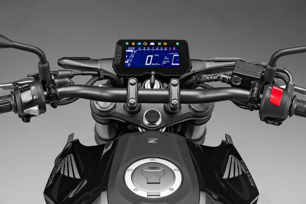 Honda CB 300 R 2018, cuadro de instrumentos