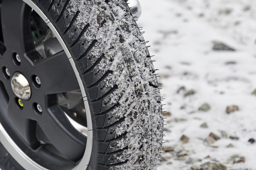 Neumáticos de invierno para scooter