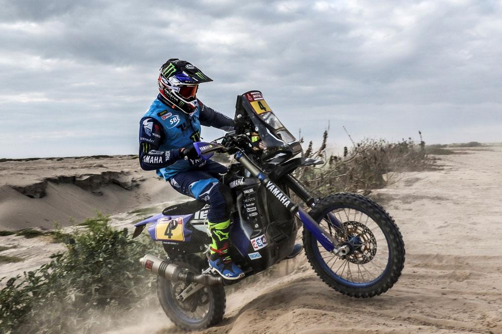 Adrien Van Beveren, victoria y liderato del Dakar 2018