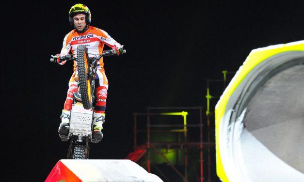 Victoria de Toni Bou en el Trial Indoor de Montpellier