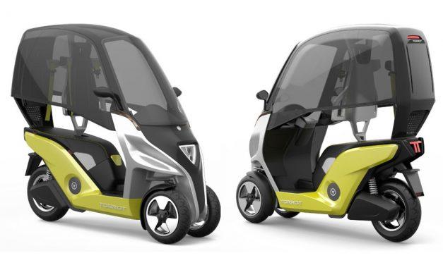 Torrot Velocipedo: Scooter de tres ruedas eléctrico y 100 por cien español