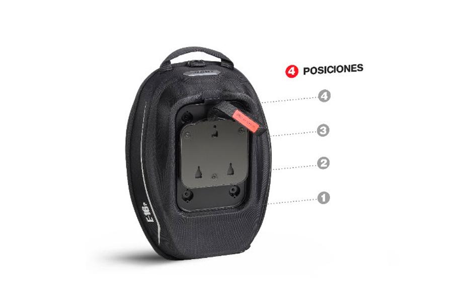 Pin System para bolsas de despósito de Shad