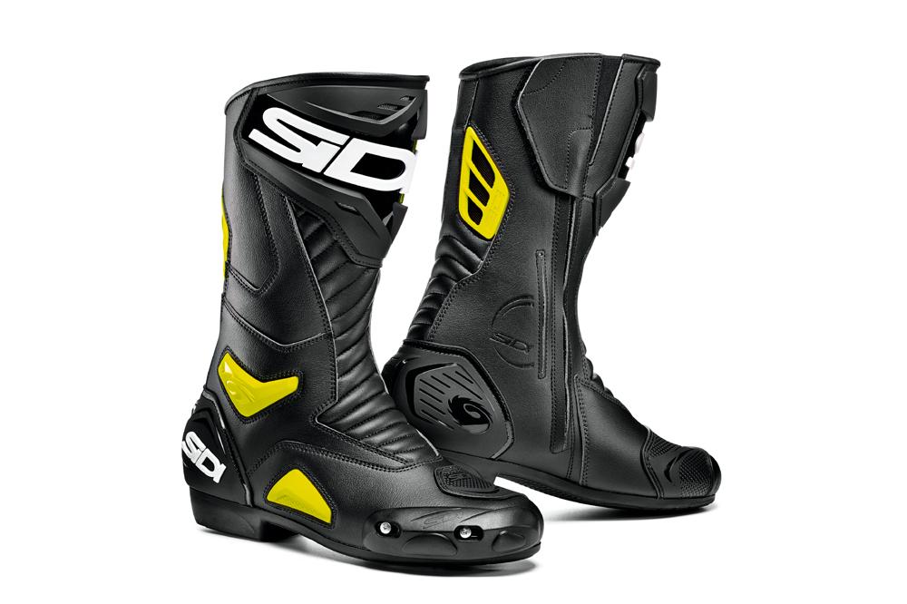 Botas Racing Performer de SIDI en negro y amarillo