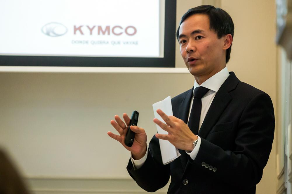 Carlos Wang, Director General de motocicletas KYMCO
