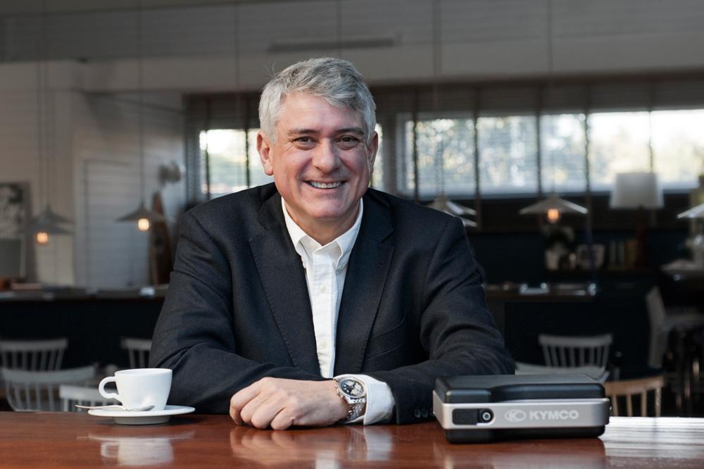 Fernando Saiz, Director General de e-Movilidad KYMCO
