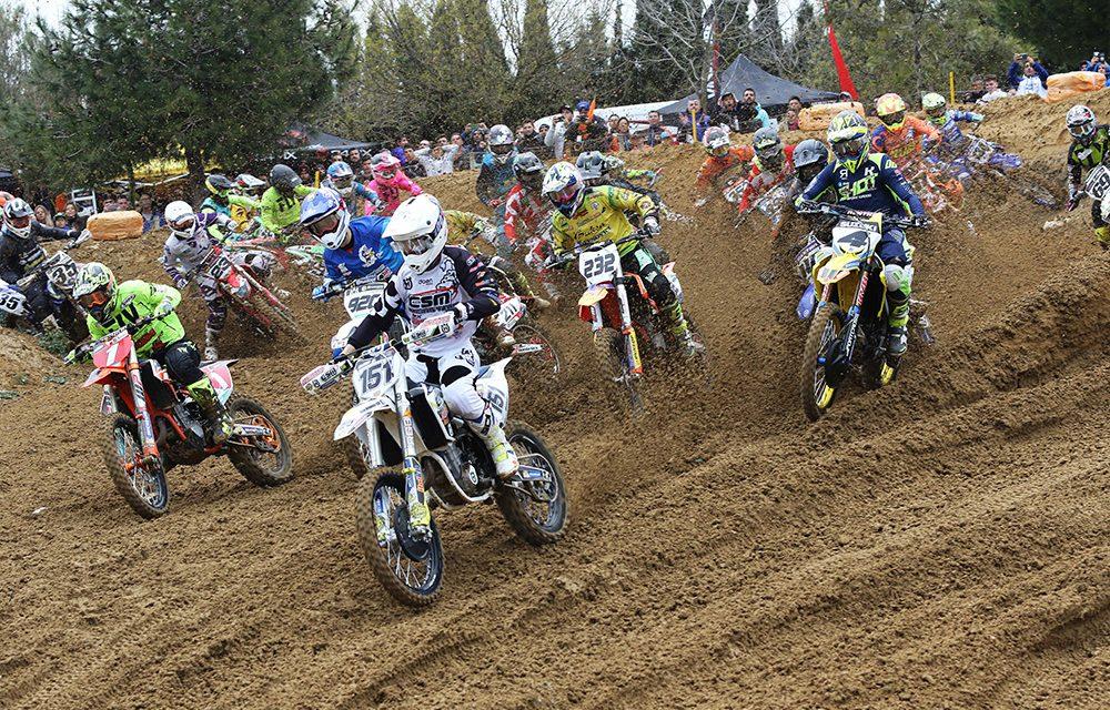 La segunda cita del Campeonato de España de Motocross ya tiene sus campeones