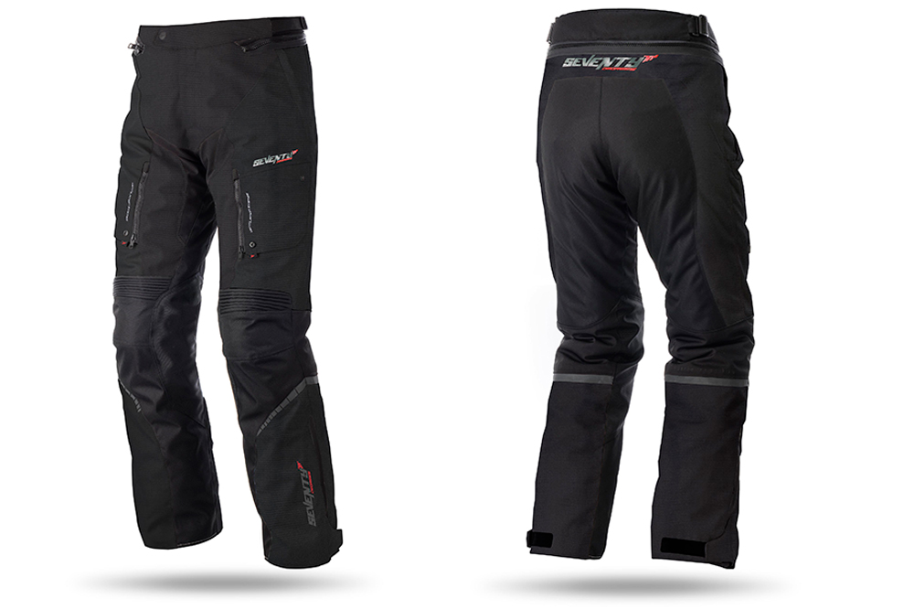 Pantalon touring SD-PT1 de Seventy Degrees en negro
