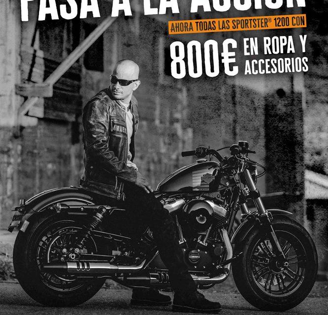 La familia Harley-Davidson Sportster 1200 vienen con regalo