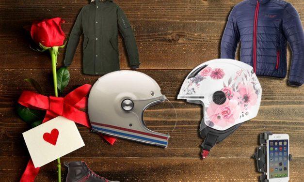 11 ideas moteras para regalar por San Valentín