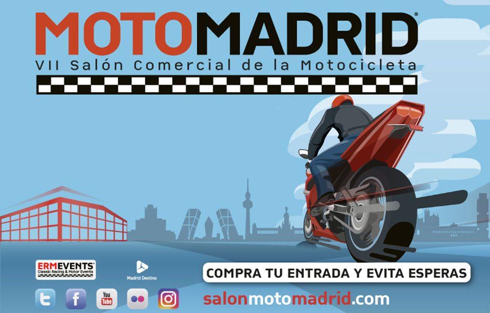 MotoMadrid llega al Pabellón de Cristal de la Casa de Campo en marzo