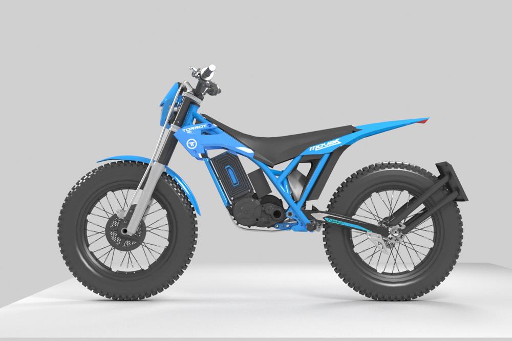 El Torrot Movak puede ser usado como moto off road o como una trail urbana