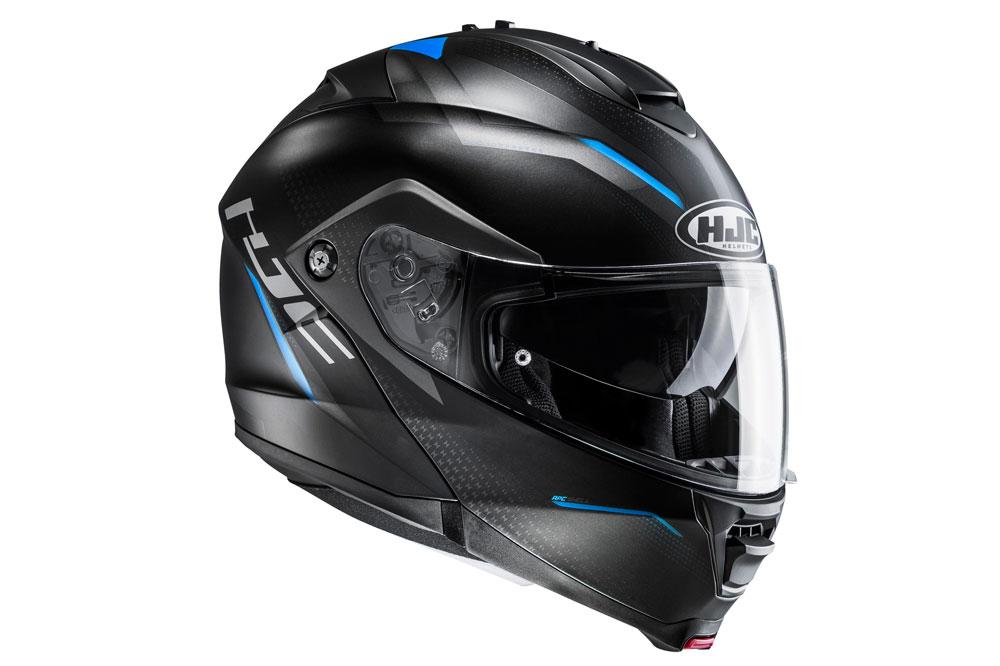 Casco abatible IS MAX II de HJC azul