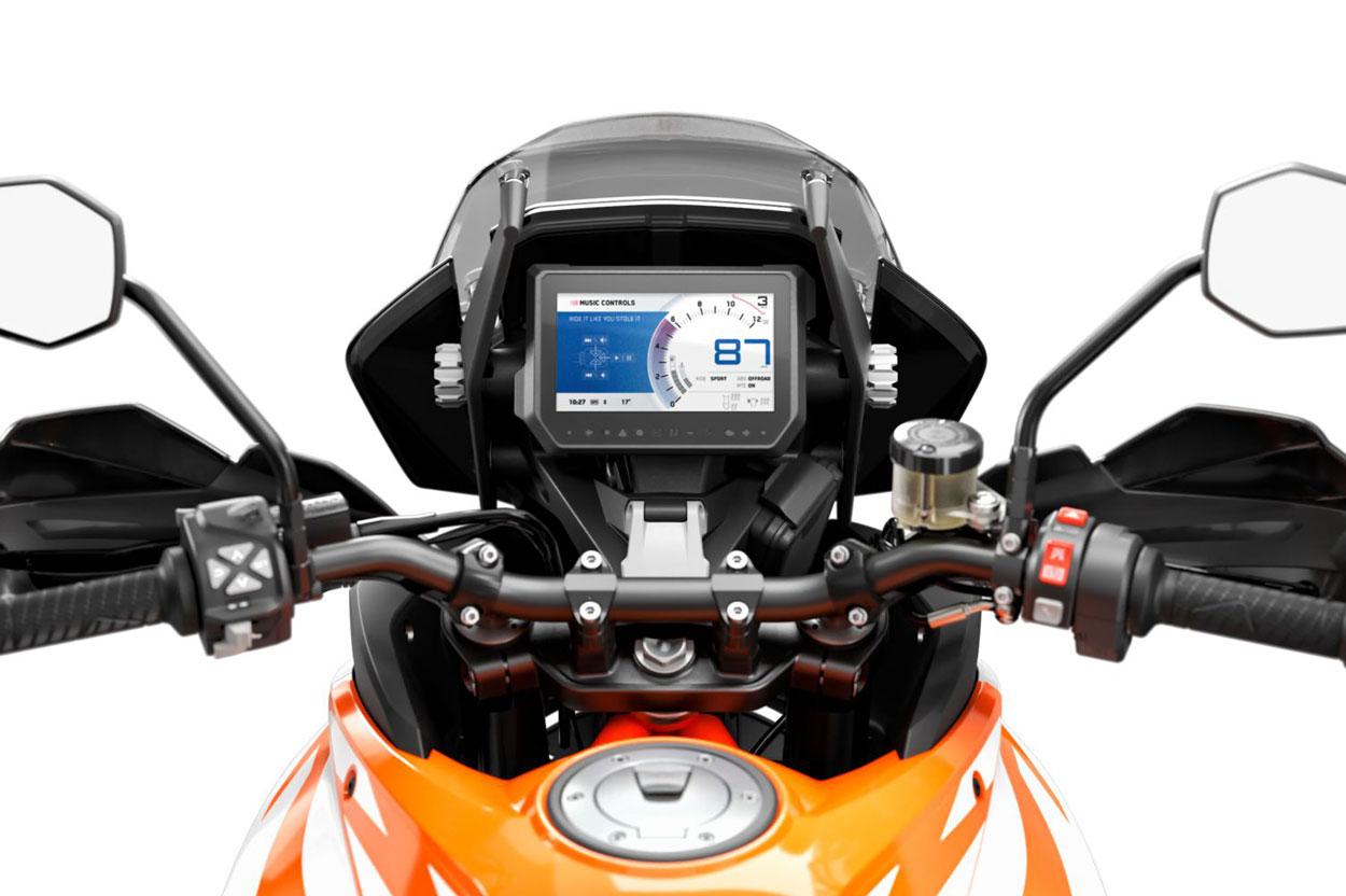 KTM My Ride, sistema de navegacion para motos