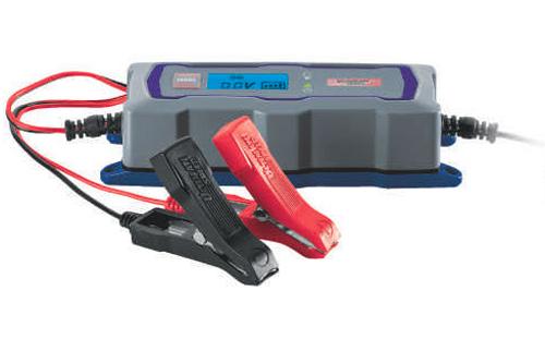 Cargador de baterías de moto de Lidl