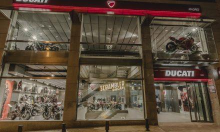 Ducati inaugura su mayor tienda de motos en Madrid