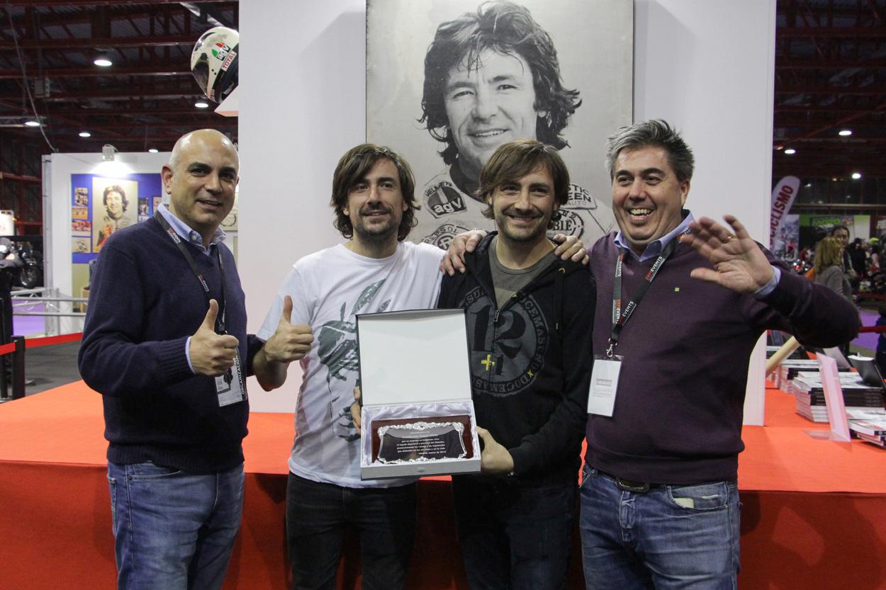 Gelete y Pablo Nieto en el Salón MotoMadrid 2018