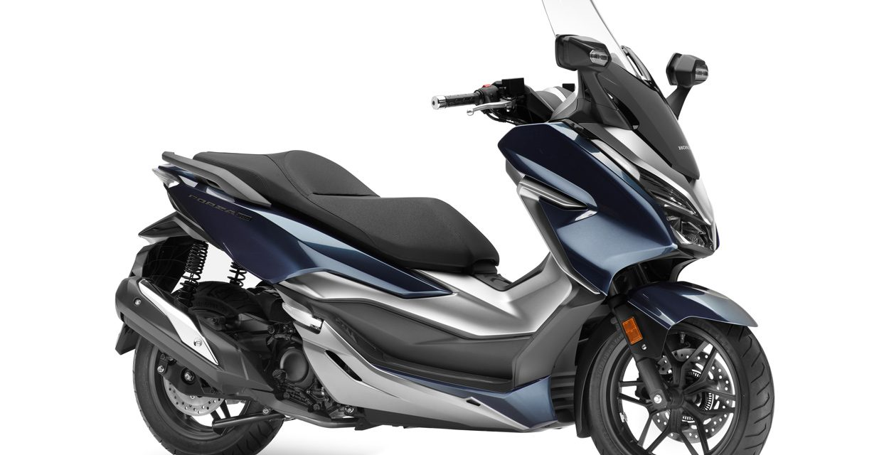 Honda Forza 300 2018: Un scooter GT de lujo