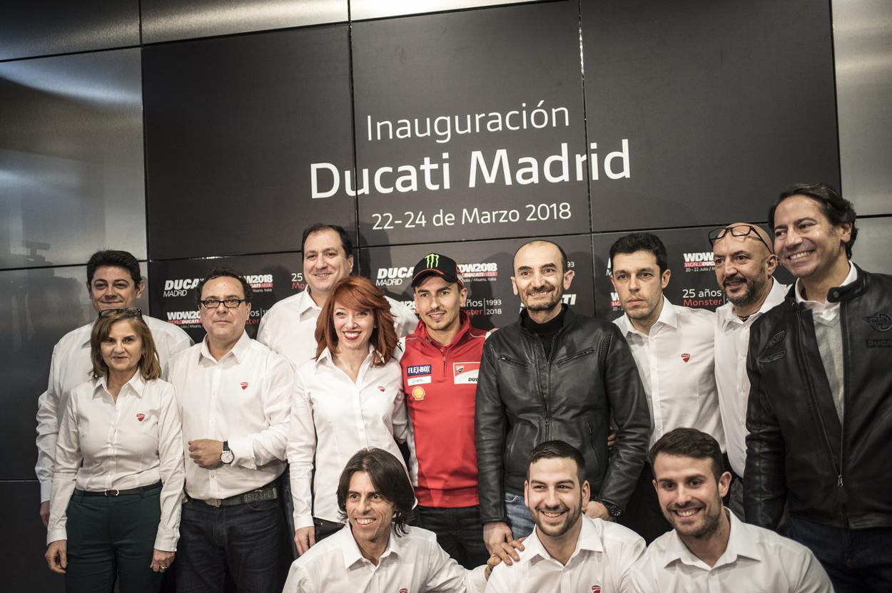 Nuevo concesionario Ducati Madrid
