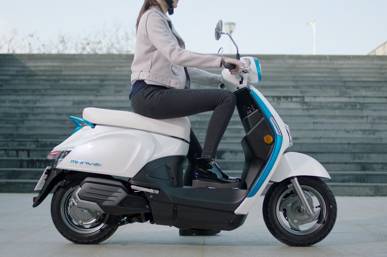 KYMCO Many EV scooter eléctrico