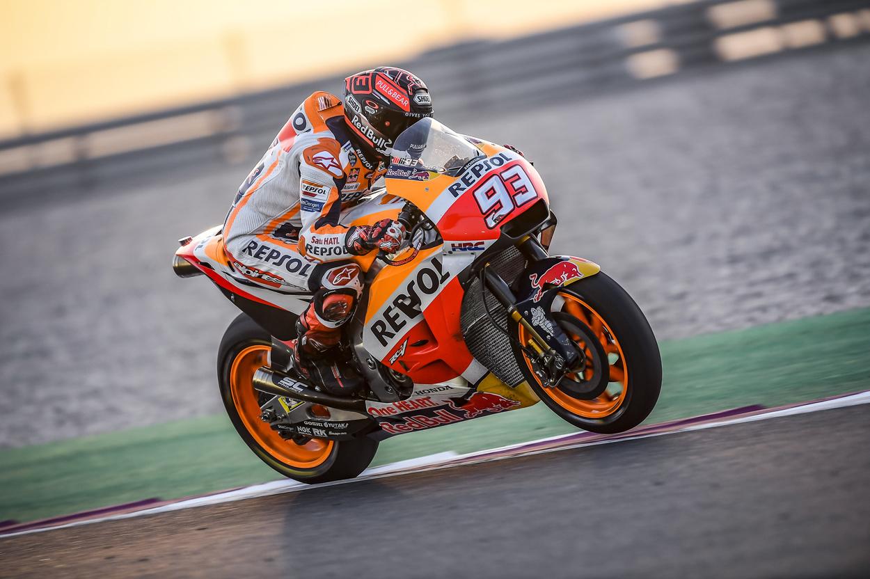 Marc Marquez, entrenamientos MotoGP Qatar