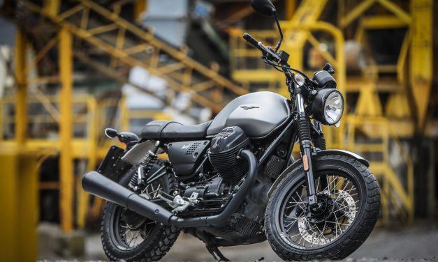 Moto Guzzi V7 Carbon, Rough y Milano