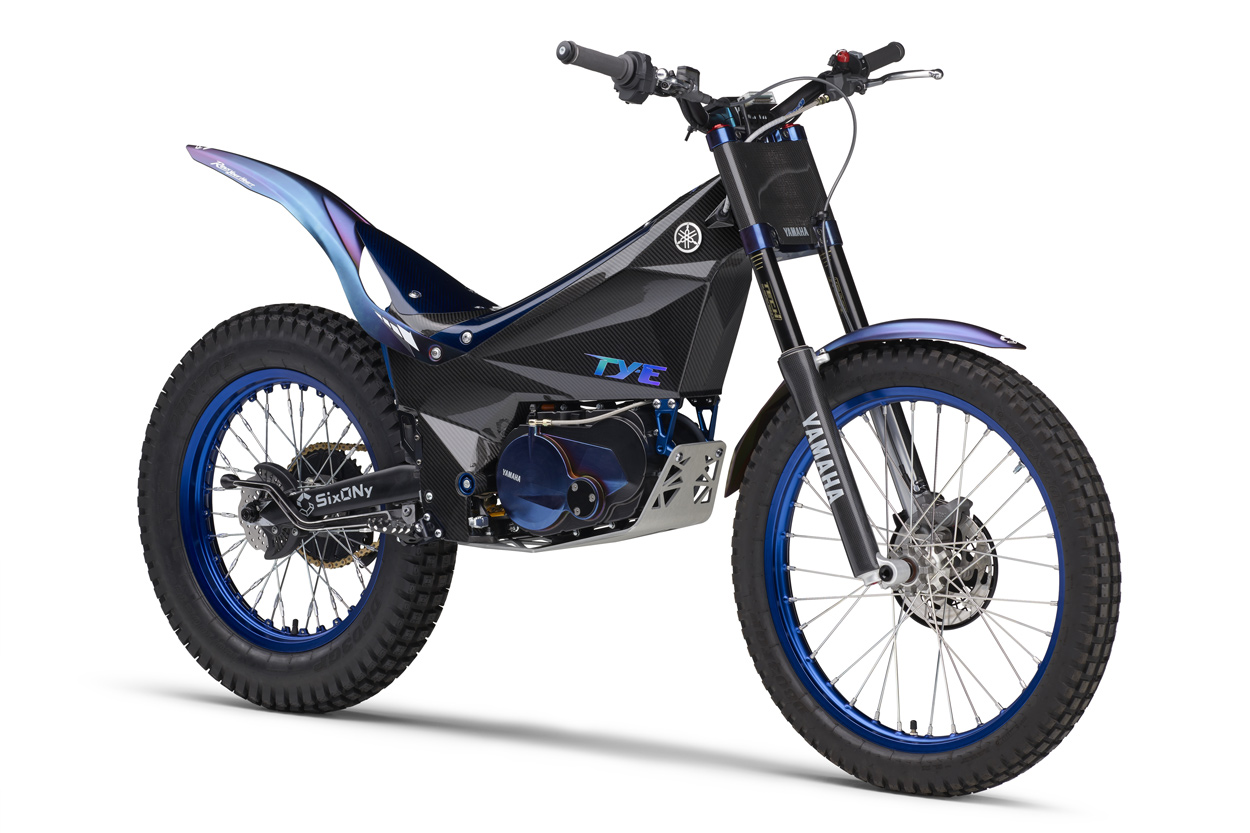 Yamaha ha presentado la TY-E su primera moto de trial eléctrica que estará lista para competir en el Campeonato del Mundo, en la modalidad reservada a motos eléctricas.