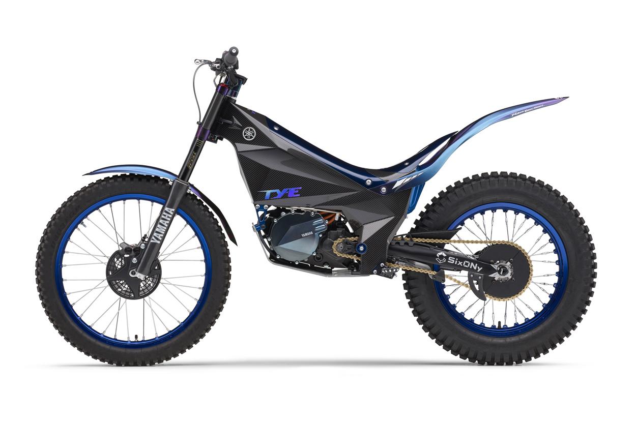 Yamaha TY E moto de trial eléctrica