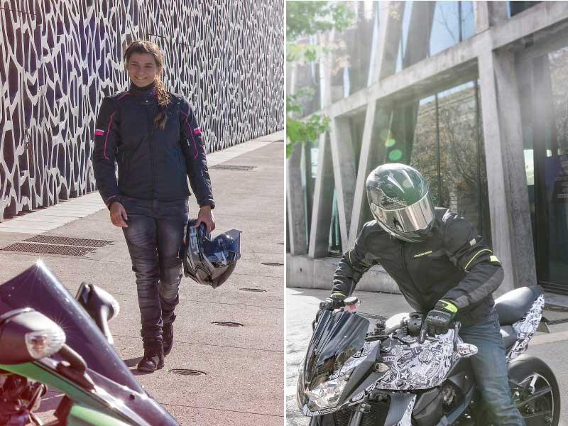 Chaquetas de moto Lorenzo y Livya de VQUATTRO
