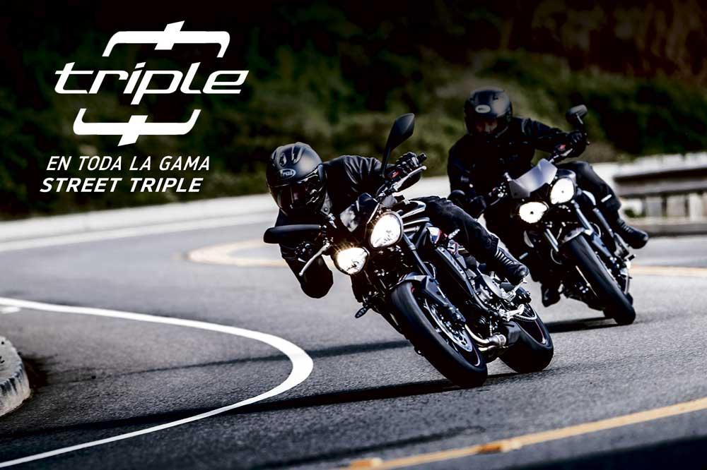 Oferta Triple 0 de gama Street Triple Triumph
