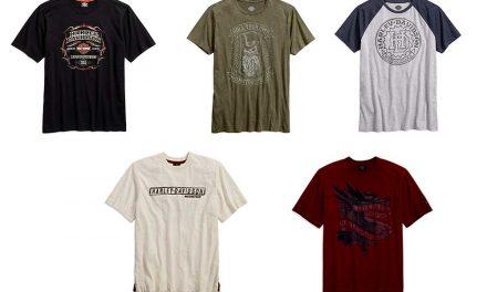 Nuevas camisetas Harley-Davidson para esta primavera