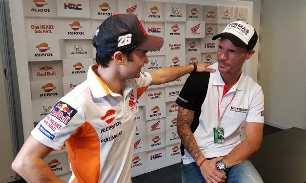 Entrevista a Sebas Porto tras el GP de Argentina de MotoGP