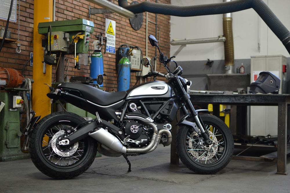 Ducati Scrambler Street Classic