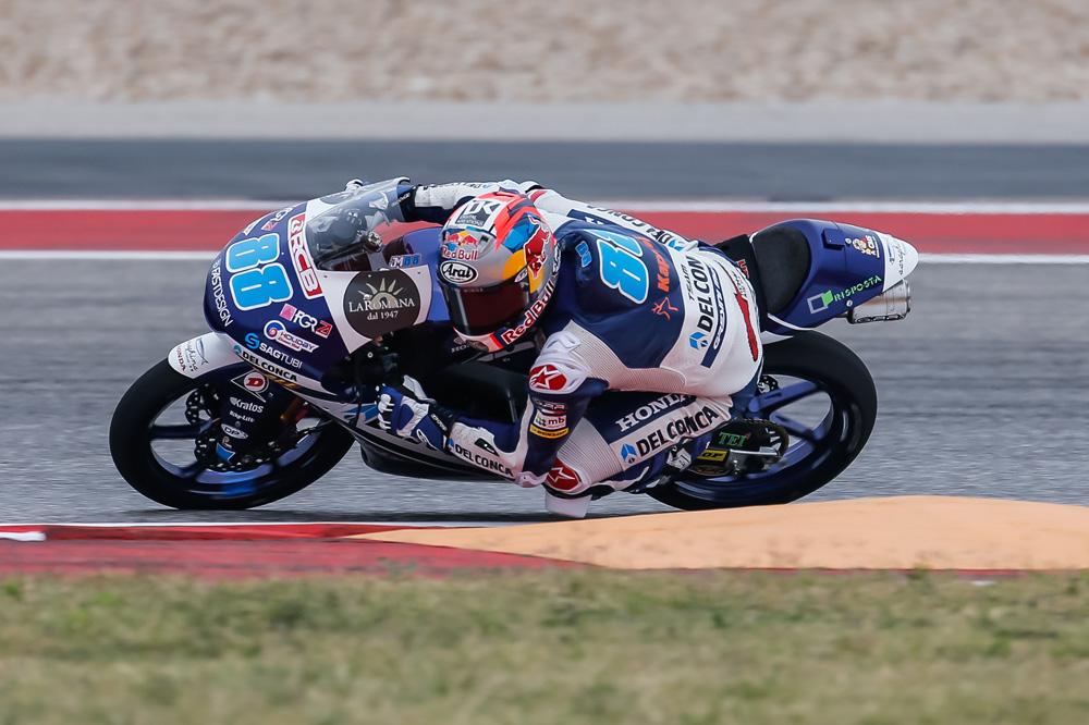 Jorge Martín, victoria en el GP Américas Moto3