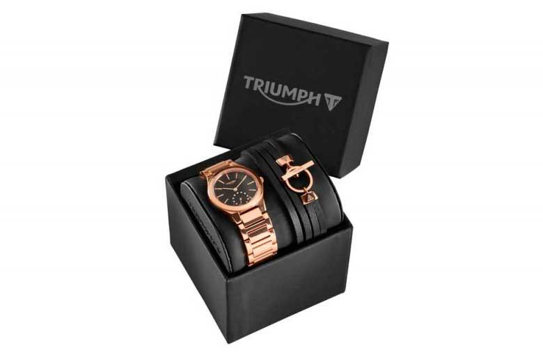 Set de reloj y pulsera mujer de Triumph
