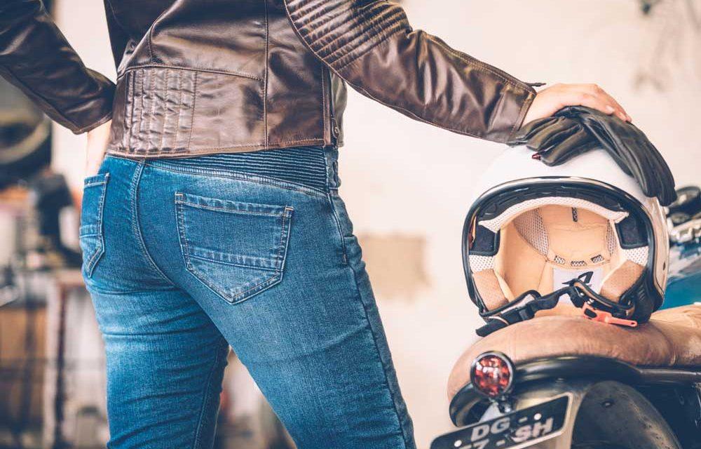 Vaqueros para moto Manx y City Lady de Overlap