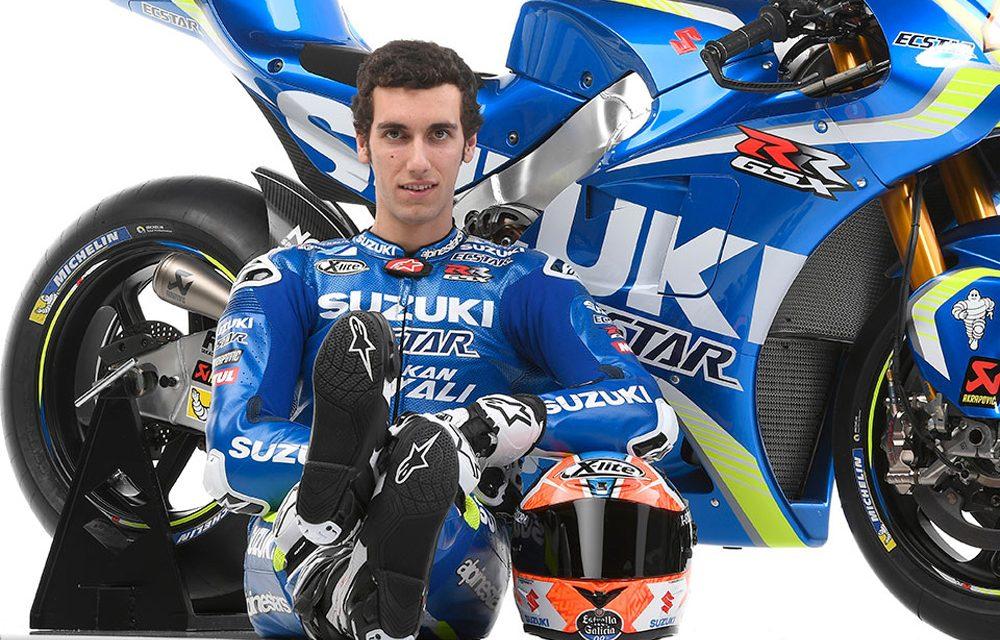 Alex Rins, dos años más con Suzuki en MotoGP