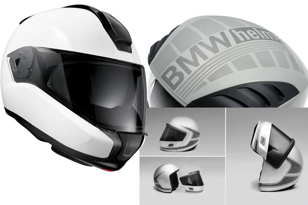 BMW evoluciono los cascos para moto