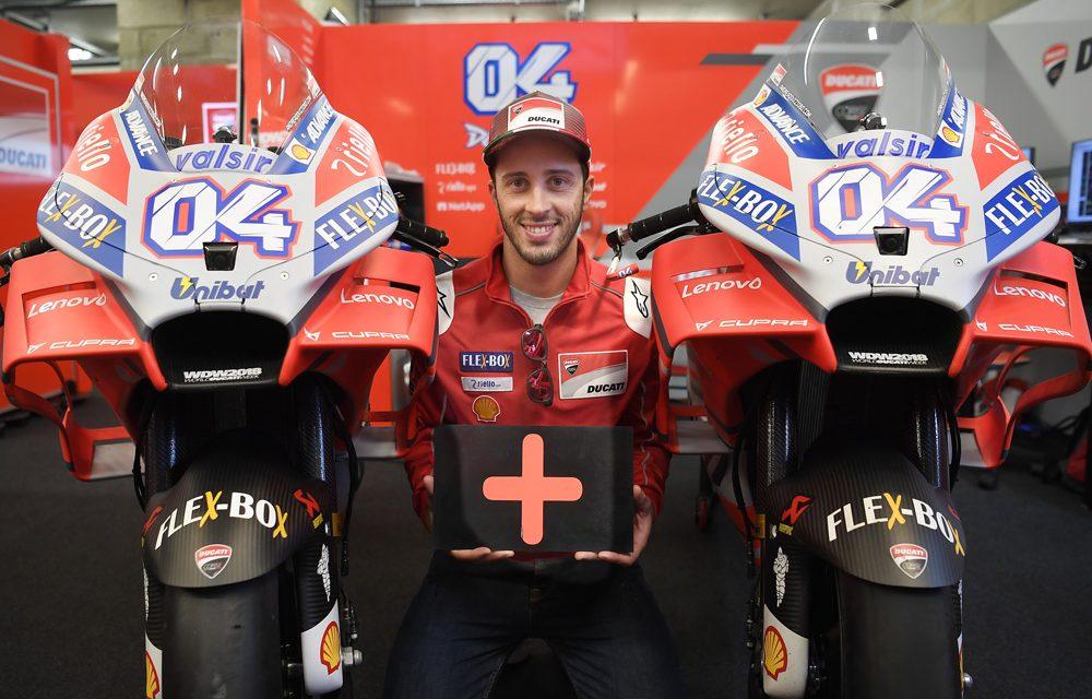 Andrea Dovizioso seguirá en Ducati dos años más