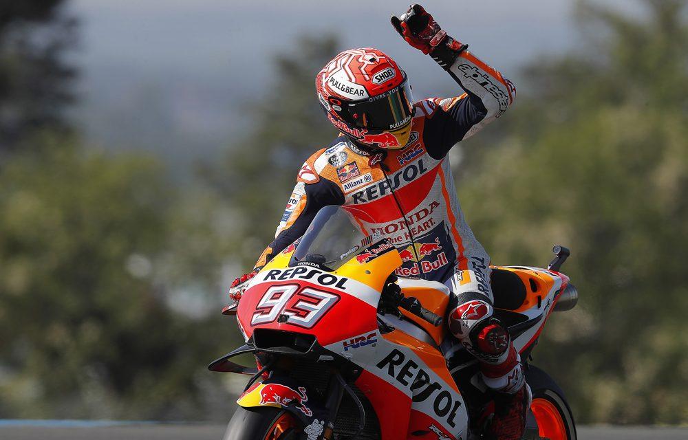 MotoGP Francia: Márc Márquez, contundente
